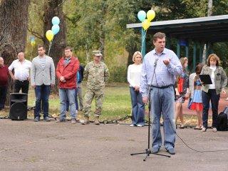 Дитяче свято «Ми Українці» організоване для дітей військових, які служать у зоні АТО, 20 вересня 2014